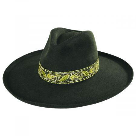 Lack of Color Melodic Wool Felt Fedora Hat