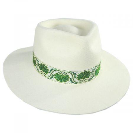 f553e3fed Ivy Beverly Wool Felt Fedora Hat