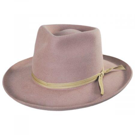 Zulu II Wool Felt Fedora Hat