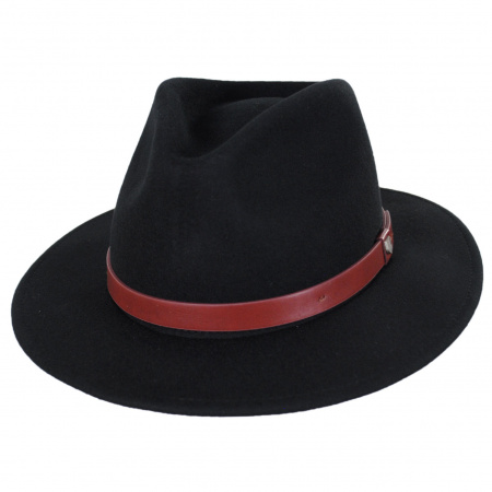 Messer Wool Felt Fedora Hat alternate view 15