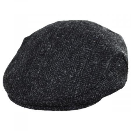 Jaxon & James Dunvegan Harris Tweed Wool Ivy Cap
