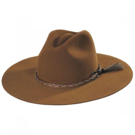 Weltmeyer Fur Felt Crossover Hat