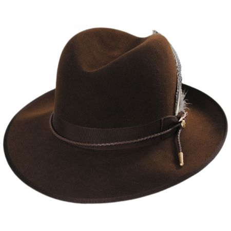 Stetson One Two Three Fur Felt Crossover Hat