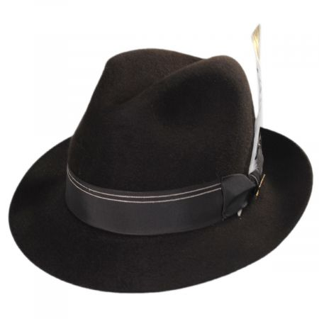 Highliner Fur Felt Fedora Hat alternate view 5