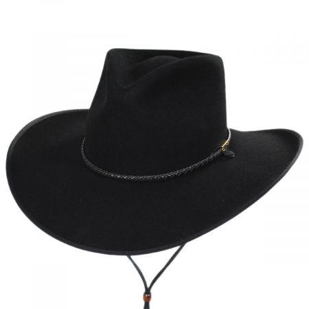 Quicklink Wool Felt Crossover Hat alternate view 6