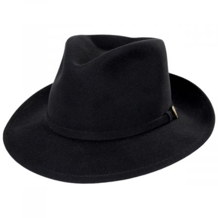 Princely Fur Felt Wool Blend Fedora Hat