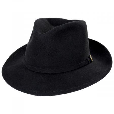 Princely Fur Felt Wool Blend Fedora Hat alternate view 17