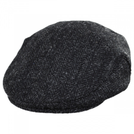 B2B Jaxon and James Dunvegan Harris Tweed Wool Ivy Cap
