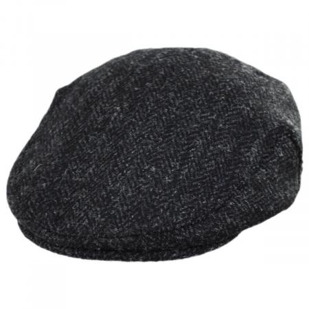 B2B Jaxon & James Dunvegan Harris Tweed Wool Ivy Cap