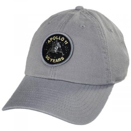 Apollo 11 50 Year Anniversary Strapback Baseball Cap Dad Hat alternate view 1