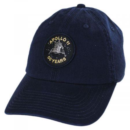 Apollo 11 50 Year Anniversary Strapback Baseball Cap Dad Hat alternate view 5