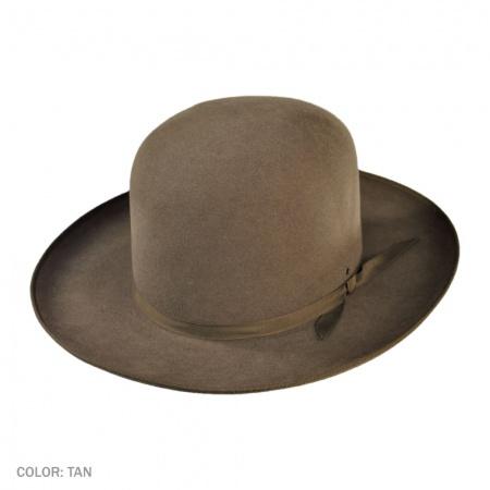 Akubra Bushman Fur Felt Shapeable Open Crown Hat