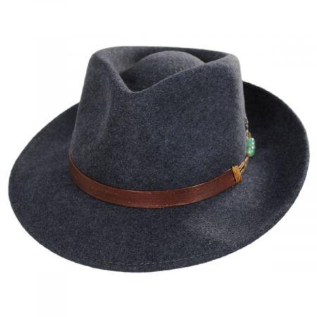 Carlos Santana Elements Wool Fedora Hat