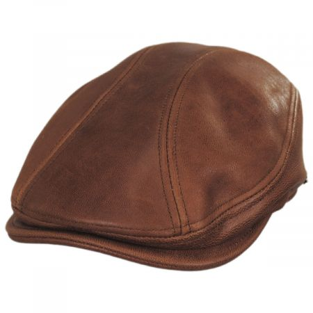 Stetson Carlton Leather Ivy Cap