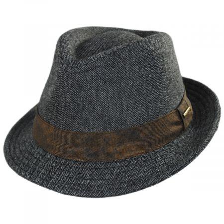Stetson Inverness Wool Blend Fedora Hat