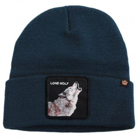 Wolf Man Beanie Hat