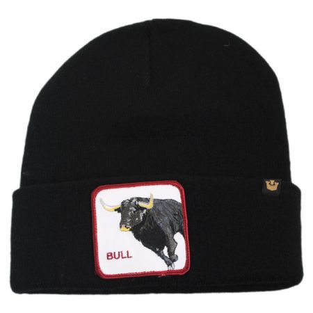 Big Bull Beanie Hat alternate view 1