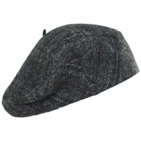 Heritage Par Laulhere Gwen Tweed Herringbone Wool Beret