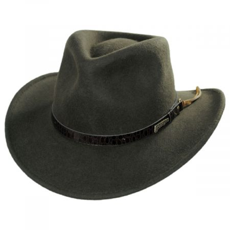 Indiana Jones Officially Licensed Olive Green Wool Outback