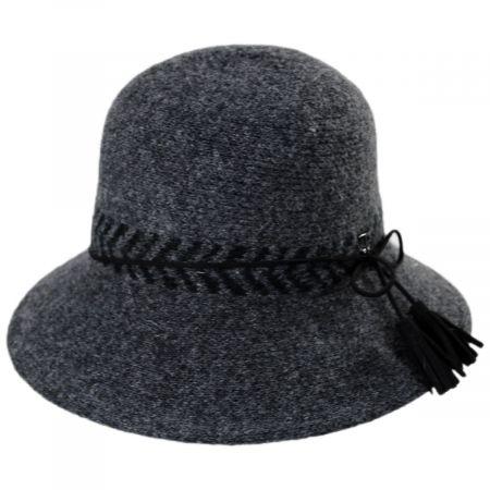Callanan Hats Mattie Wool Blend Cloche Hat