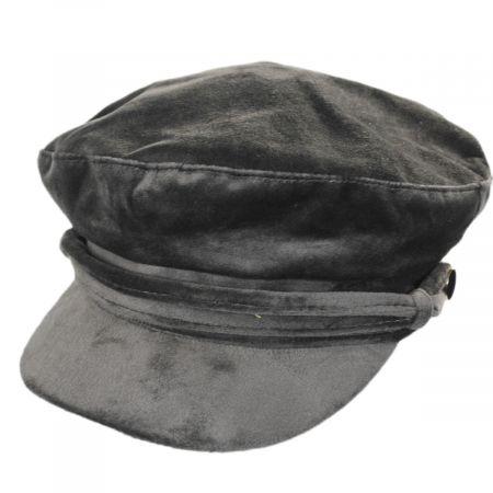 Callanan Hats Tenille Velvet Fiddler Cap