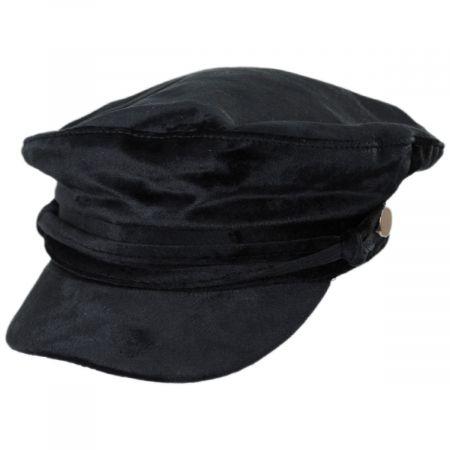 Tenille Velvet Fiddler Cap
