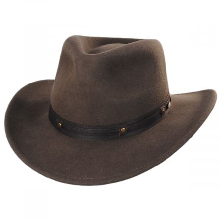 Twin Falls Wool Felt Outback Hat alternate view 1