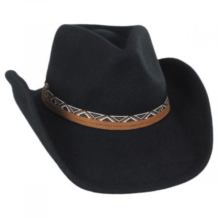 Motya Wool Felt Western Hat