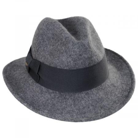 Scala Modica Wool Felt Fedora Hat