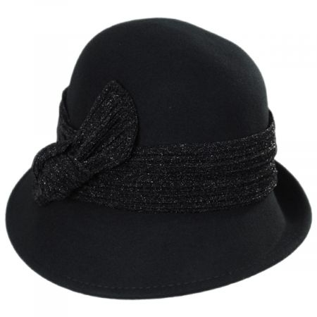 Scala Giardini Wool Cloche Hat