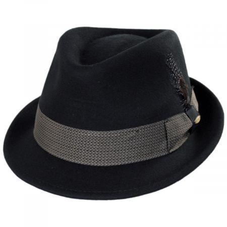 Rexburg Wool Felt Fedora Hat