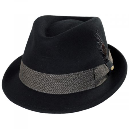 Scala Rexburg Wool Felt Fedora Hat
