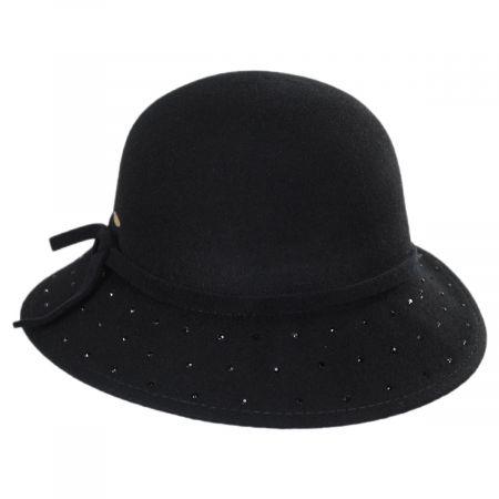 Scala Isola Wool Felt Cloche Hat