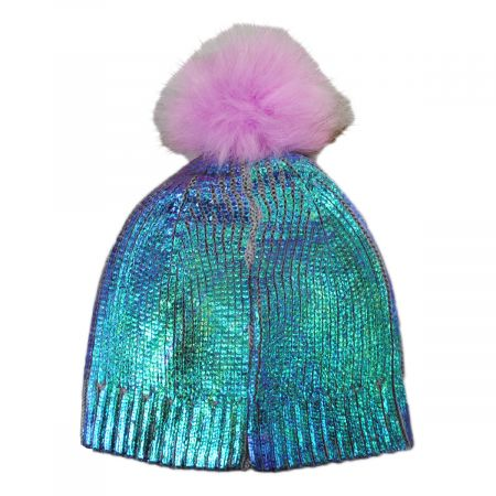 Scala Kids' Mermaid Magic Beanie Hat