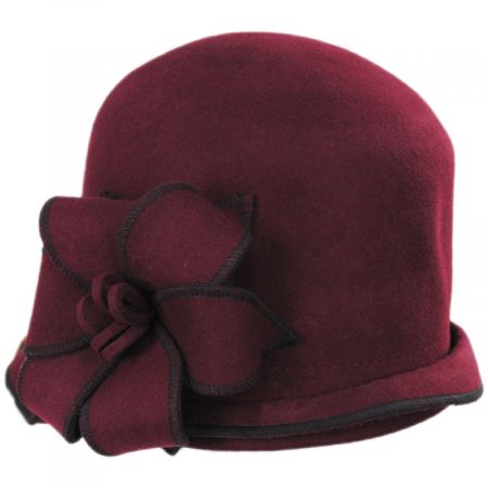Gina Wool Cloche Hat