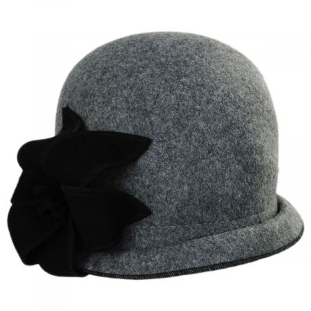 Callanan Hats Gina Wool Cloche Hat