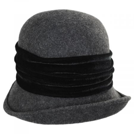 Callanan Hats Liv Wool Cloche Hat