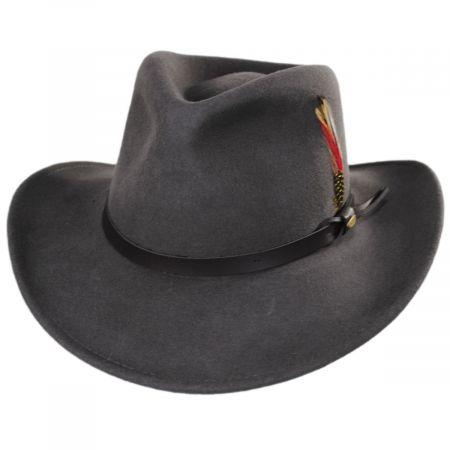 Scala Dakota Crushable Wool Felt Outback Hat