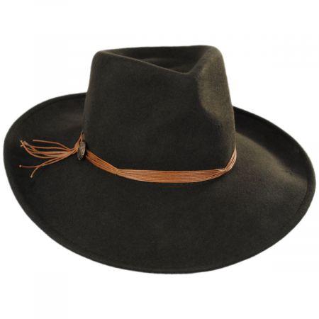 Scala Palermo Wool Felt Rancher Hat