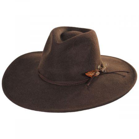 Marin Crushable Wool Fedora Hat alternate view 1