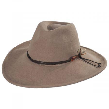 Scala Marin Crushable Wool Fedora Hat