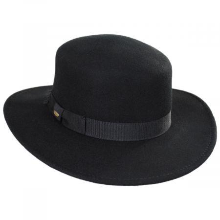 Avola Wool Felt Boater Hat