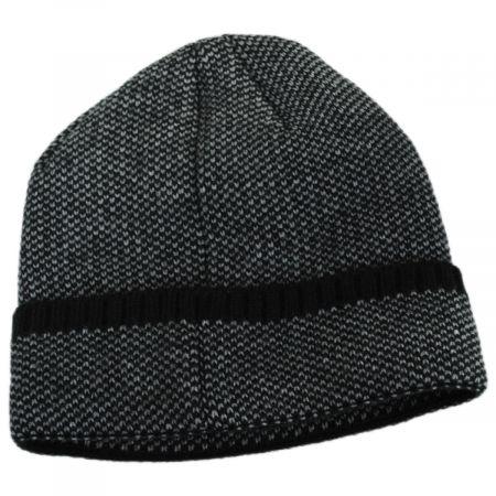 Herringbone Knit Cuff Beanie Hat alternate view 4