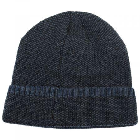 Herringbone Knit Cuff Beanie Hat alternate view 1