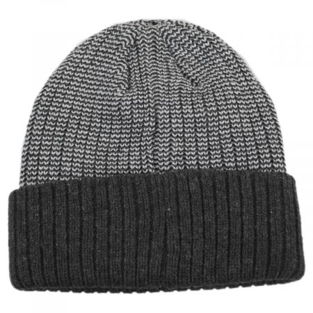 Scullie Knit 2Tone Cuff Beanie Hat alternate view 1