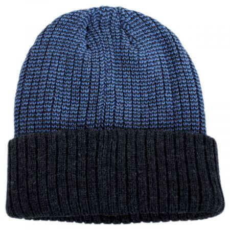 Dorfman Pacific Company Scullie Knit 2Tone Cuff Beanie Hat