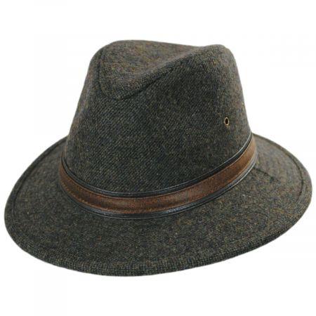 Dorfman Pacific Company Hoagy Wool Blend Fedora Hat