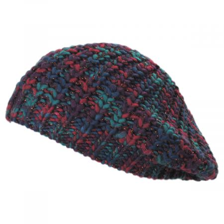 San Diego Hat Company Chunky Space Dye Knit Beret