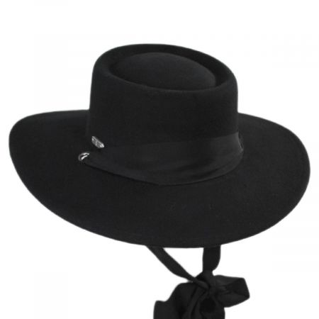 San Diego Hat Company Wool Felt Boater Hat