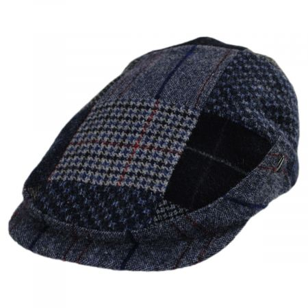 Patchwork Donegal Tweed Wool Ivy Cap alternate view 8